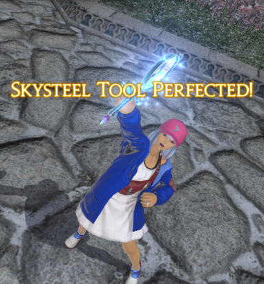 Caimie Tsukino's Guide for Expert Recipes and Skybuilders' Tools