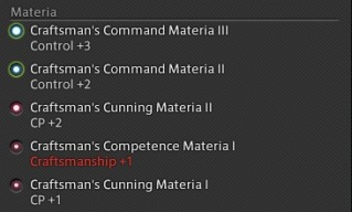 FFXIV Crafting & Gathering Gear Overmelding Guide by Caimie Tsukino